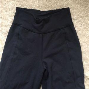 Lululemon Navy Wideleg Yoga Pants